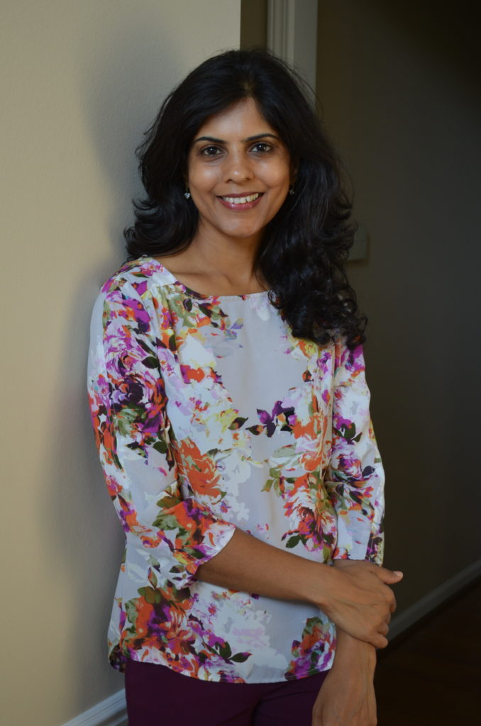 Poornima Samandur, a Registered Dietitian and Certified Diabetes Educator from Sterling Heights, Michigan. She works in the Greater Detroit Area.
